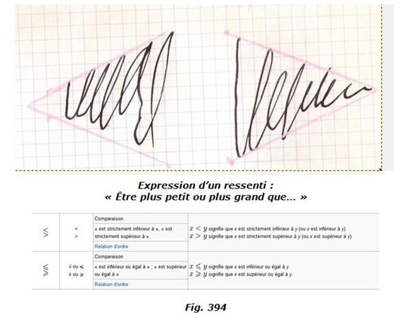 Signature sp culaire analys e par la graphicognition for Gimp effet miroir